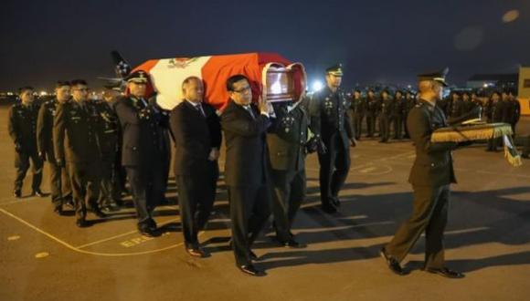 Los restos de los militares fueron entregados en los últimos días a sus familiares. (Ministerio de Defensa)