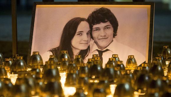 Una mujer pagó 70.000 euros por el asesinato del periodista Jan Kuciak. Los criminales también mataron a su novia. (AP).