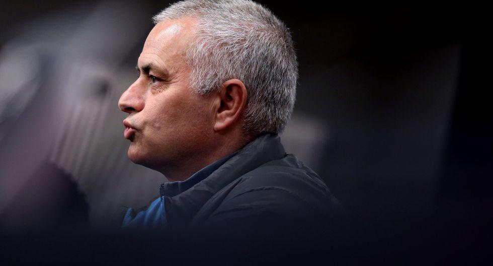 Jose Mourinho reconoció su error en medio de la pandemia del coronavirus. (Foto: AFP)