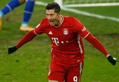 Robert Lewandowski anotó en Bayern Múnich y llegó a 500 goles oficiales en su carrera | VIDEO