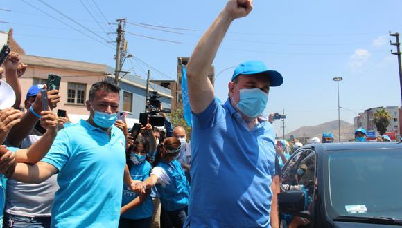 En enero pasado, López Aliaga se encontraba en el grupo de 'otros candidatos', con menos de 1% de intención de voto, pero ahora disputa el segundo lugar. (Foto: difusión)
