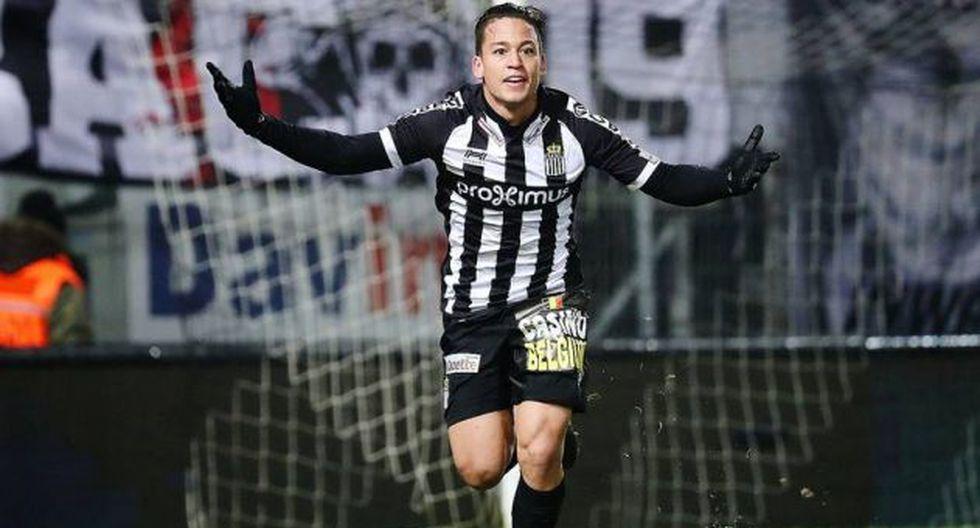 Cristian Benavente: DT de Charleroi elogió cambio del peruano