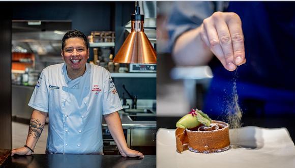 El chef peruano Carlos Camino abrió Miraflores en 2013 y recibió su primera estrella en 2017. Este 2021 su cocina franco-peruana ha vuelto a recibir una estrella en su nuevo local. (Fotos: Restaurante Miraflores)