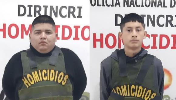Los implicados fueron puestos a disposición de la Fiscalía Provincial Penal corporativa de turno de El Agustino. (Foto:PNP)