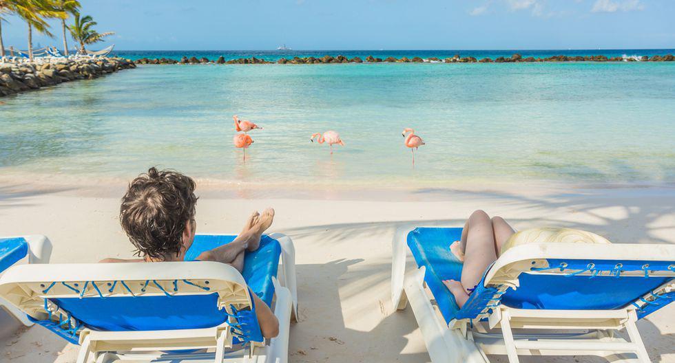 Aruba ha sido bendecida con un cielo claro durante la mayoría de los días del calendario y, sin duda, esta es una de las razones por las cuales la isla tiene la tasa más alta de retorno de turistas del Caribe.(Foto: Shutterstock)