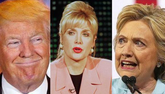 Donald Trump llevaría a ex amante de Bill Clinton al debate