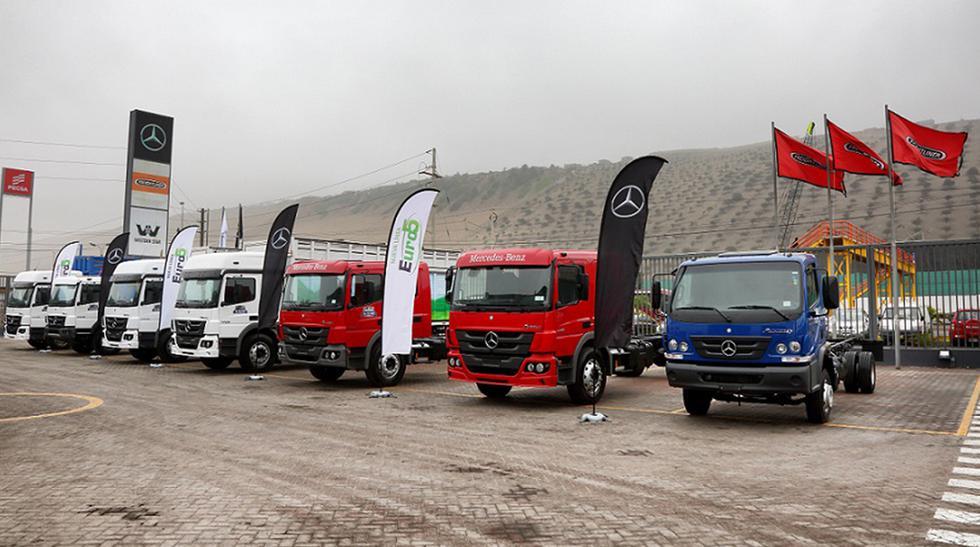 Los nuevos camiones de Mercedes-Benz incluyen una tecnología con consumos más eficientes y un tren motriz más robusto. (Fotos: Divemotor).