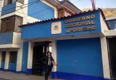 Gobierno Regional de Apurímac pide que se sancione a los responsables de las muertes de los jóvenes