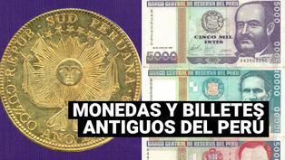 ¿Cómo fueron las primeras monedas y billetes del Perú?