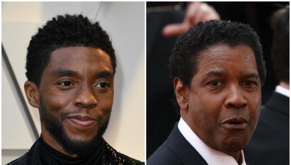 Denzel Washinton pagó los estudios de Chadwick Boseman en la Universidad de Oxford. (Foto: AFP)