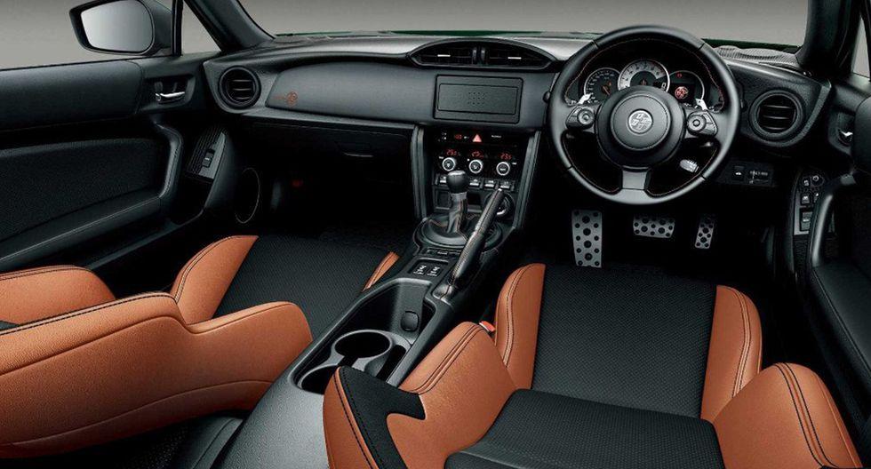 El deportivo Toyota GT86 adquiere un color verde británico para su carrocería y detalles en su interior. (Foto: Toyota).