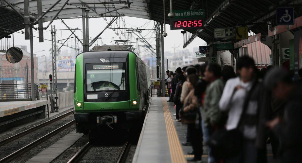 El Metro de Lima restableció su servicio tras la suspensión temporal debido a un incidente ocurrido en la Estación Angamos | Foto: GEC