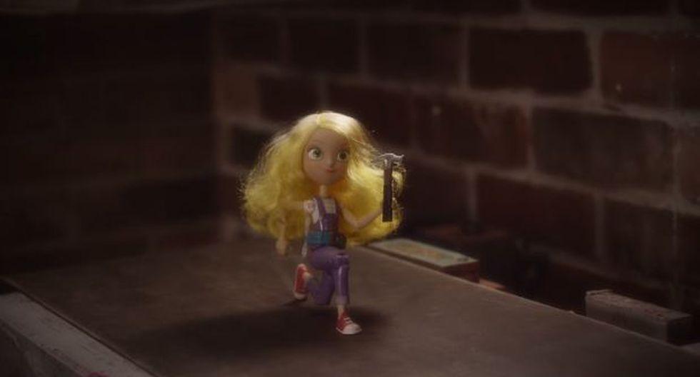 YouTube: Goldie, la muñeca y figura de acción para niñas