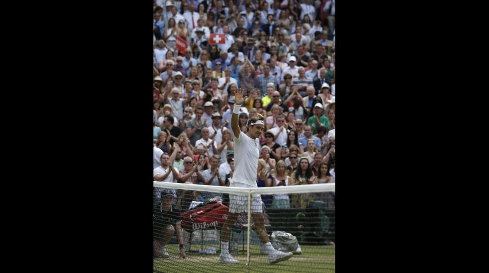 Federer vs. Murray: las imágenes de un partidazo en Wimbledon - 10
