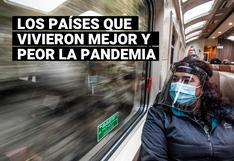 Coronavirus: los mejores y peores países donde pasar la pandemia
