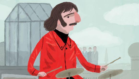 Ringo Starr cumple 80 años: la historia de aquella vez que The Beatles iban a tocar en el Perú. ILUSTRACIÓN: Víctor Aguilar Rúa.