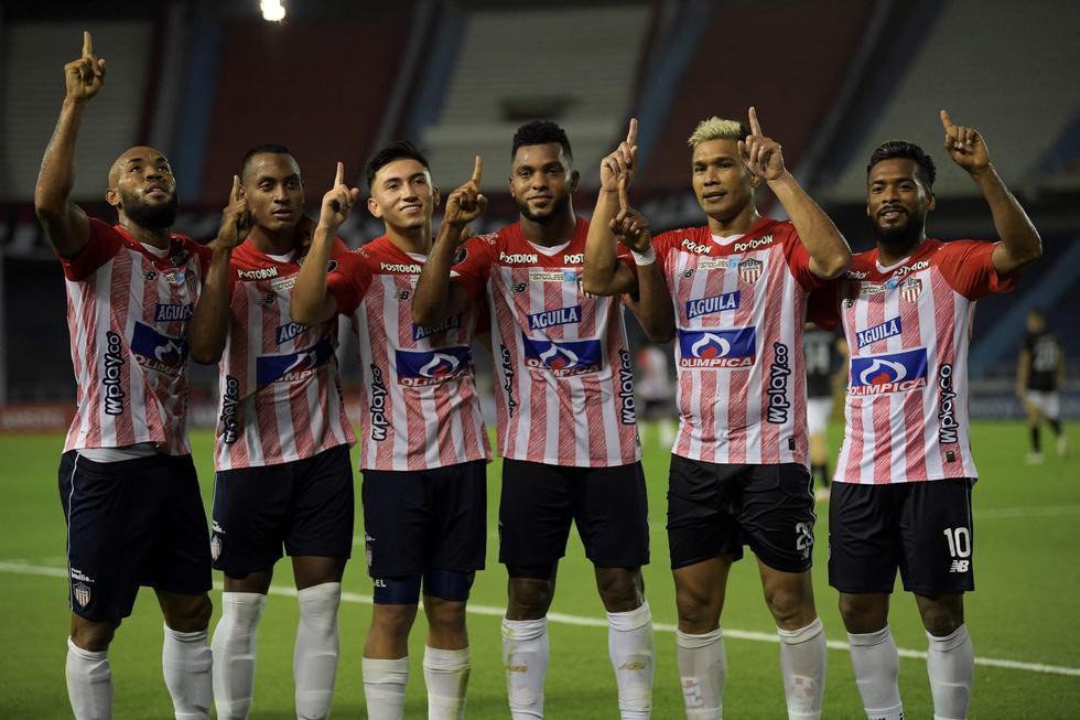 Junior enfrentó a Caracas por la Copa Libertadores