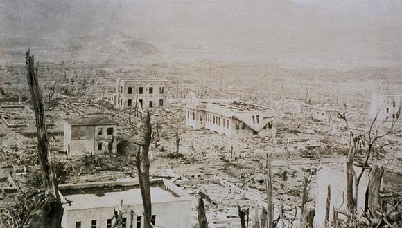 Hiroshima y Nagasaki fueron reconstruidas un año después de que cayeron las bombas.(Foto: La Nación, GDA)