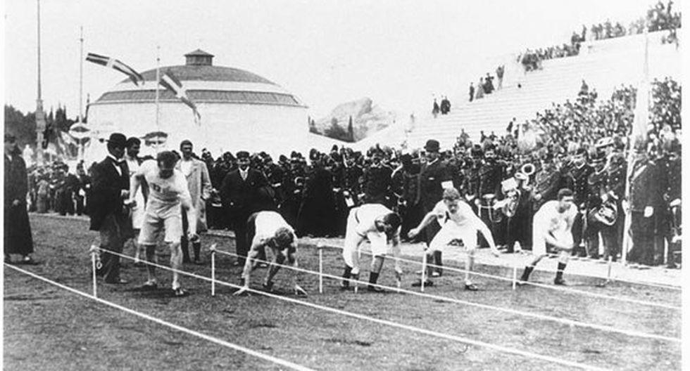 Atenas 1896 se inauguró un 6 de abril. (Foto: Comité Olímpico Internacional)