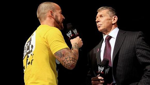 CM Punk criticó que WrestleMania 36 siga en pie pese al coronavirus. (Créditos: WWE)