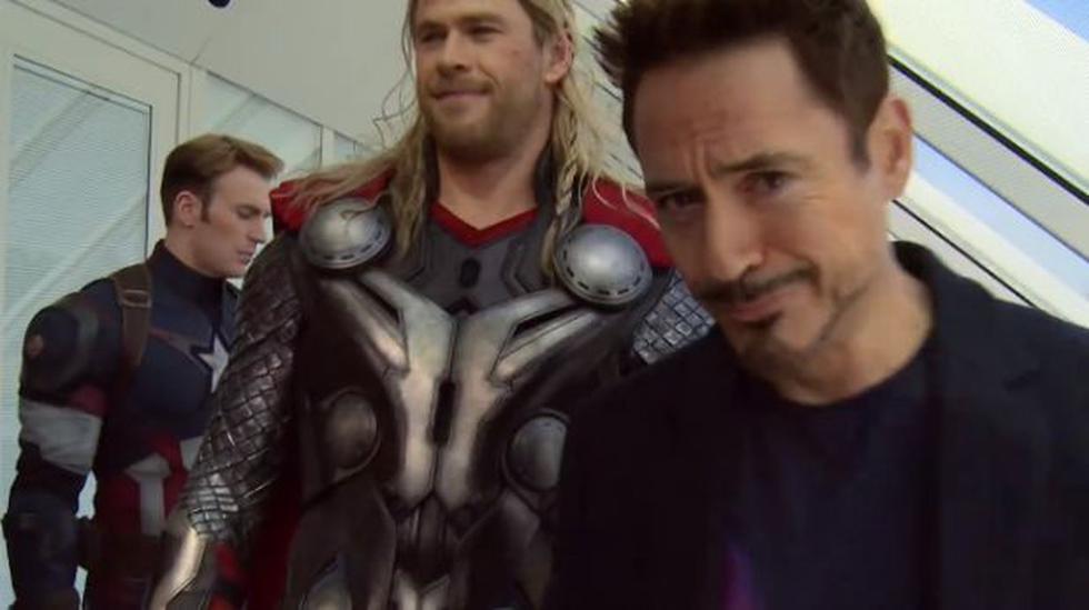 """Facebook: mira cómo es la verdadera unión entre los """"Avengers"""" - 2"""
