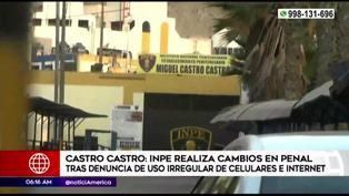 INPE traslada a 16 internos de Castro Castro a penal de Pasco tras escándalo de uso de internet