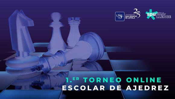 El torneo online de ajedrez se realizará el jueves 22 de octubre mediante la plataforma Lichess. (Foto: Difusión)