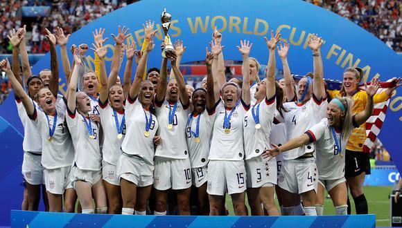 Estados Unidos es el vigente campeón mundial de fútbol femenino. (Foto: AP)