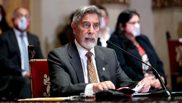 El presidente Francisco Sagasti garantizó que la comisión del Minsa está investigando los detalles del 'Vacunagate'. (Foto: Presidencia de la República)