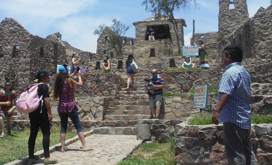 El parque zonal  Chavín de Huántar es el mayor atractivo del distrito de Quilmaná, en Cañete.(Foto: Facebook Parque Zonal Chavín de Huántar)