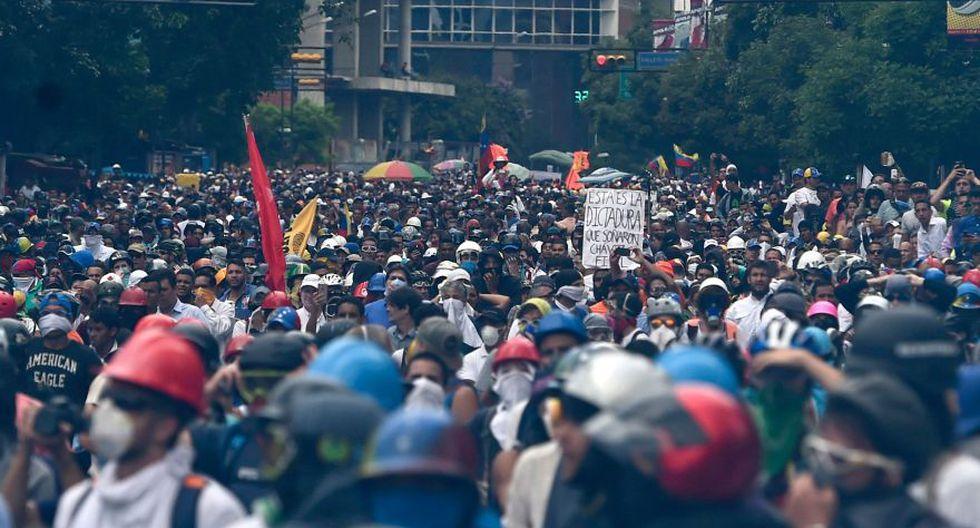 Venezuela: Una semana de lucha desde anuncio de Constituyente - 20