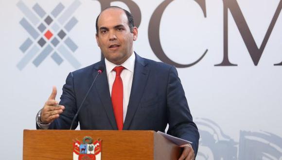 "Fernando Zavala: ""Jaime Saavedra, te damos nuestro apoyo"""