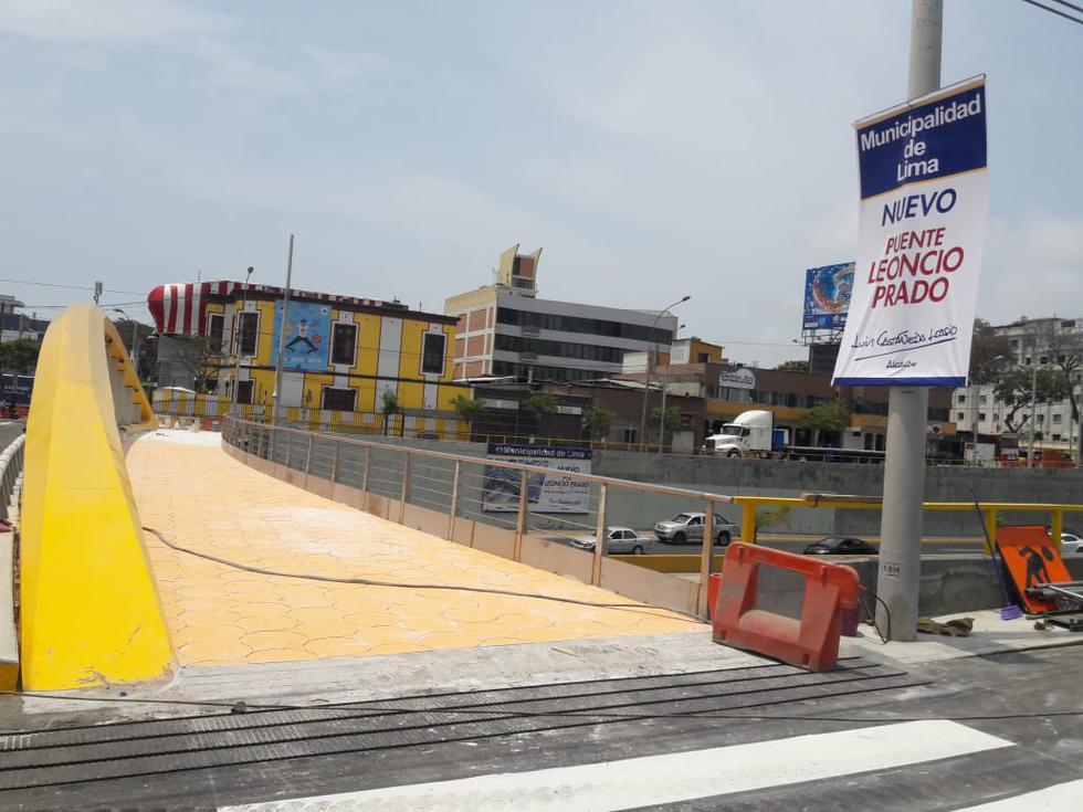 En marzo de 2018, la Municipalidad de Lima inició la construcción de los puentes vehiculares Junín y Leoncio Prado, en las cuadras 45 y 52 de la Vía Expresa. (Foto: Pier Barakat/El Comercio)