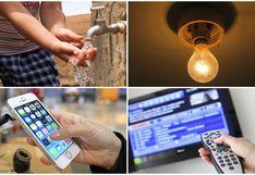 Agua, luz, telefonía, TV paga e Internet: ¿Qué servicios están fraccionando el pago de sus recibos?