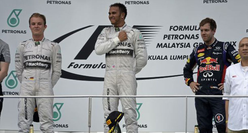 Fórmula 1: Lewis Hamilton fue el más rápido en Malasia
