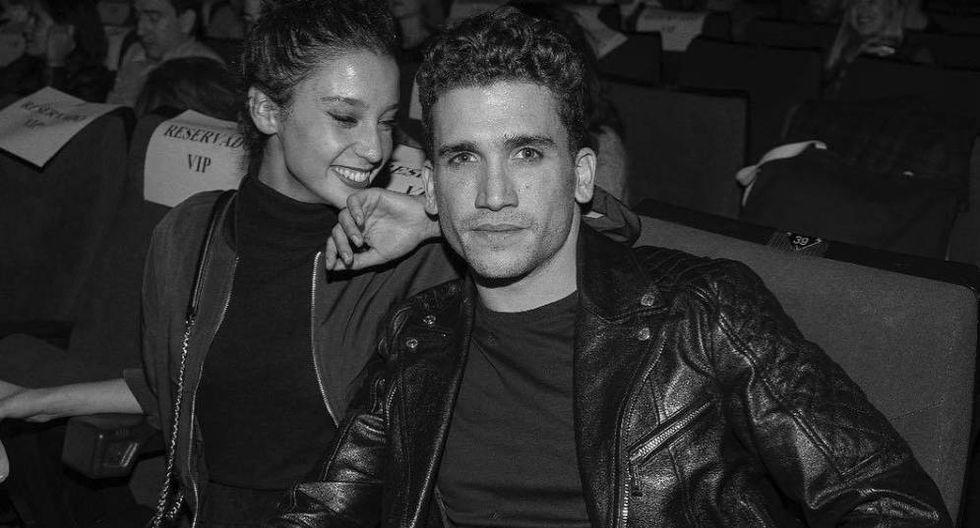 """Los actores españoles y protagonistas de la serie """"Élite"""" María Pedraza y Jaime Lorente están junto en la vida real."""
