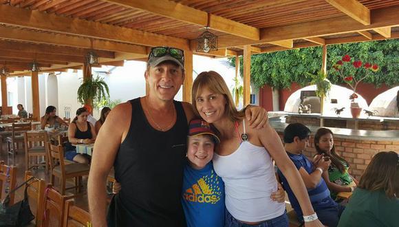 Paul Martin y su familia. (Fuente: Facebook)