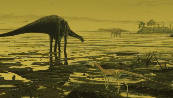 Hallan cientos de huellas de dinosaurios en Escocia