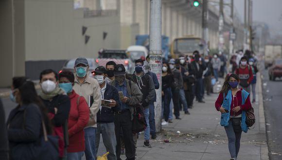 Los casos de coronavirus aumentan en el país. (ANTHONY NIÑO DE GUZMAN/GEC)