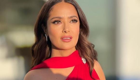 "Salma Hayek brinda detalles sobre su papel en ""Hitman's Wife's Bodyguard"". (Foto: Instagram @salmahayek)."