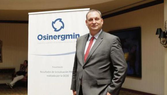 Daniel Schmerler renunció al cargo de presidente de Osinergmin. (Foto: GEC)