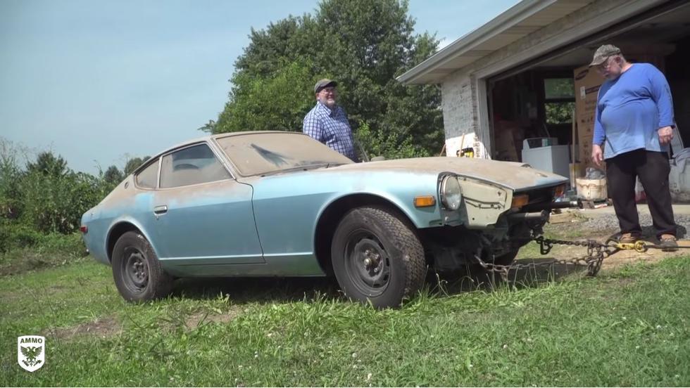 Tras un arduo trabajo devuelven a la vida un clásico Datsun 280Z. (Foto: Captura YouTube - AMMO NYC)