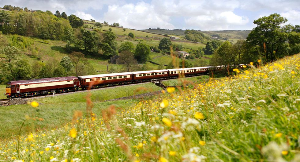Viaja en este tren hacia el misterioso mundo de Agatha Christie