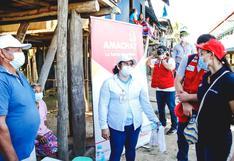 Ministra Donayre supervisa atención a las comunidades indígenas por el COVID-19 en Loreto