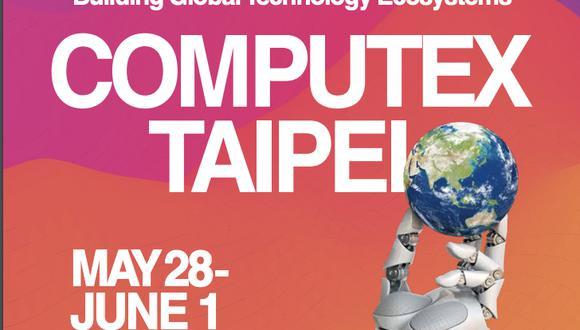 El Computex 2019 se realizará en Taipéi desde el 28 de mayo hasta el 1 de junio. (Difusión)