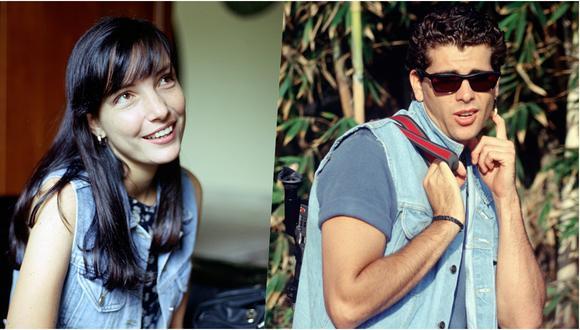 """Marisol Aguirre y Christian Meier, protagonistas de """"Gorrión"""", el éxito televisivo de los años 90. (Fotos: El Comercio / Inés Menacho/ Archivo histórico)"""