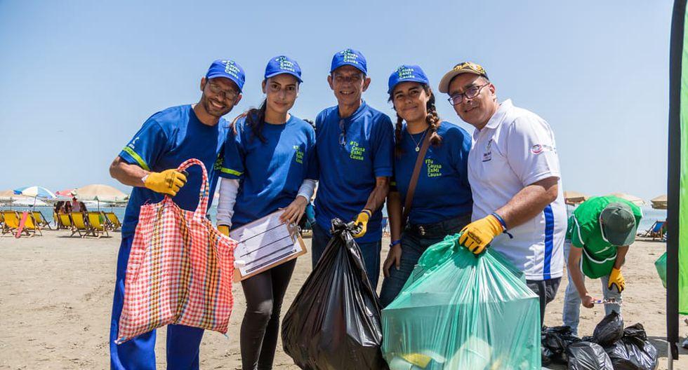 """La jornada de limpieza nació en marzo de este año por parte de ciudadanos venezolanos en agradecimiento y beneficio de la comunidad peruana. Lima, Arequipa, Tacna y Cusco son algunas regiones donde se han desarrollado estas actividades. (Foto: Brigada """"Gracias Causa"""" )"""