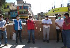 Coronavirus en Perú: entregan pruebas rápidas y mascarillas reutilizables en distritos del Vraem