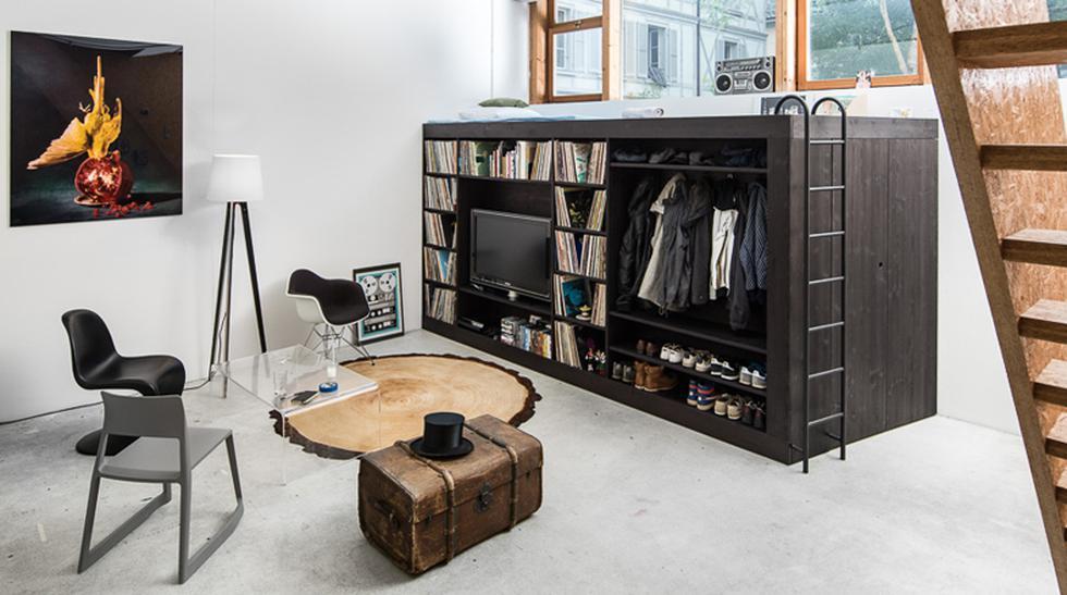 'Cubo de vida', una casa portátil para vivir dentro de un flat - 1