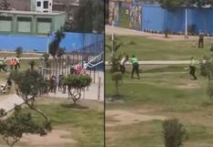 Callao: un muerto dejó intervención de la Policía a sujetos que jugaban fulbito en losa deportiva